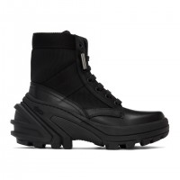 1017 ALYX 9SM Men's Black Fuoripista Lace-up Boots  on clearance S0EWT8505